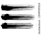 abstract black brush stripe.... | Shutterstock .eps vector #1549959314