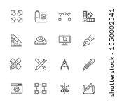 blueprint  engineering outline...   Shutterstock .eps vector #1550002541