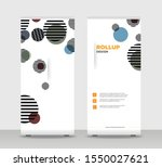 tropical abstract shapes modern ... | Shutterstock .eps vector #1550027621