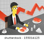 food in times of crisis | Shutterstock .eps vector #155016125