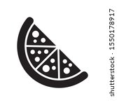 pizza icon in trendy flat style ...