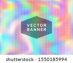simple poster glitch... | Shutterstock .eps vector #1550185994