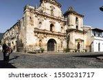 Temple of the city of Antigua Guatemala.