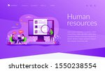 job interview. employee hiring. ... | Shutterstock .eps vector #1550238554