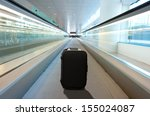 lost suitcase at the airport | Shutterstock . vector #155024087