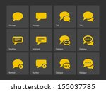 message bubble icons. see also...