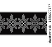 seamless decorative border...   Shutterstock .eps vector #1550377877