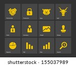 finance icons. see also vector...