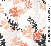 abstract floral graphic... | Shutterstock .eps vector #1550388377