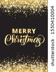 merry christmas and new year... | Shutterstock .eps vector #1550410004