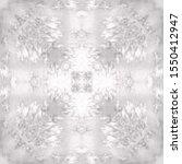 halftone grey ornament  winter... | Shutterstock .eps vector #1550412947