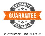 guarantee round stamp with... | Shutterstock .eps vector #1550417507