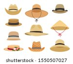 Farmers Gardening Hats. Asian...