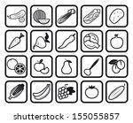vegetables. ingredients for...   Shutterstock .eps vector #155055857