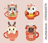 The Collection Of Cute Cat In...