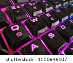 Close Up Of A Gamer Keyboard
