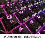 Close Up Of A Gamer Keyboard