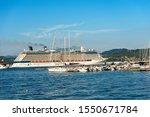 la spezia  italy   july 10 ... | Shutterstock . vector #1550671784
