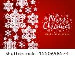 christmas horizontal greeting...   Shutterstock .eps vector #1550698574