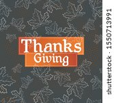 Happy Thanksgiving Typography...