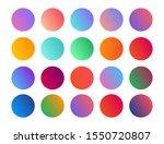 gradient holographic circle...
