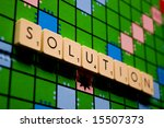 Solution Word In A Board Game