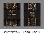 set of modern geometric luxury... | Shutterstock .eps vector #1550785211