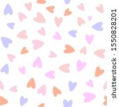 cute seamless pattern with... | Shutterstock .eps vector #1550828201