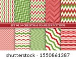 christmas seamless colorful... | Shutterstock .eps vector #1550861387