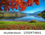 Spectacular Autumn View Of Lake ...