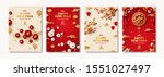 posters set for 2020 chinese...   Shutterstock .eps vector #1551027497
