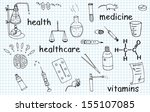 illustration of medical vector...