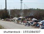 Illegal Dump Near The Road....
