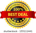 best deal satisfaction... | Shutterstock .eps vector #155111441