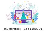 tiny people  young men and... | Shutterstock .eps vector #1551150701