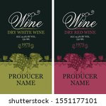 vector set of two labels for... | Shutterstock .eps vector #1551177101