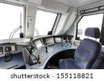 interior of a train operator's... | Shutterstock . vector #155118821