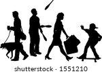 vector silhouette graphic...   Shutterstock .eps vector #1551210