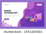 web page design template for...   Shutterstock .eps vector #1551265301