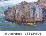 Kayaking On Potomac River In...