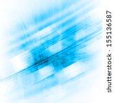 blue futuristic background | Shutterstock . vector #155136587