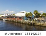 Old City Dock  In Tropical...
