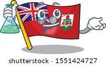 illustration flag bermuda on...   Shutterstock .eps vector #1551424727
