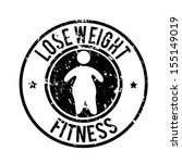 Lose Weight Design Over White...