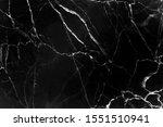 Dark Marble Vein Texture Black...