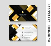 modern business card with...   Shutterstock .eps vector #1551527114