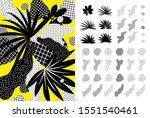 universal trendy graphic... | Shutterstock .eps vector #1551540461