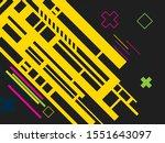 technology concept background.... | Shutterstock .eps vector #1551643097