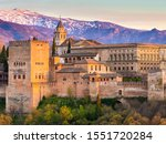 old buildings in spain from a...   Shutterstock . vector #1551720284