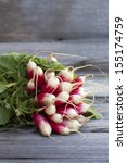 Fresh Bunch Of Radishes From...